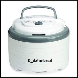 NESCO FD-75A, Snackmaster Pro Food Dehydrator, White, 600 wa