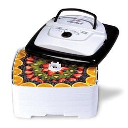Nesco FD-80 Snackmaster Square Food Dehydrator 4 Drying Tray