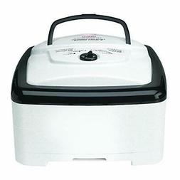 NESCO FD-80A, Square-Shaped Dehydrator, White Speckled,