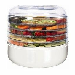 Ronco FD1005WHGEN 5-Tray Electric Food Dehydrator, 1 ea