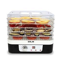 NEW BLES FD225 Food Dehydrator Dryer 5 Trays Timer Temperatu