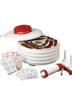 Nesco FD28JX Jerky Xpress Dehydrator Kit with Jerky Gun