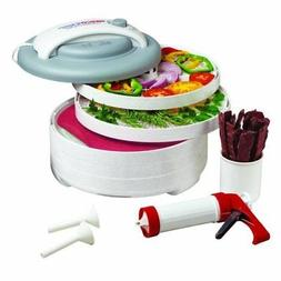 Nesco Fd61whc 5-tray Food Dehydrator All In One Kit With Jer