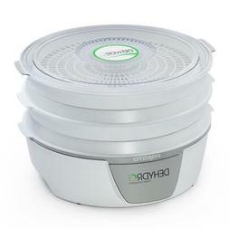 food dehydrator 4 tray bottom mounted fan