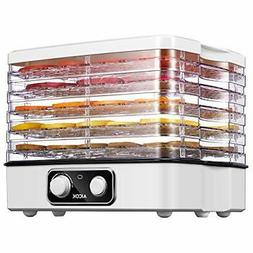 AICOK Food Dehydrator, 5-Tray Food Dehydrator Machine with T