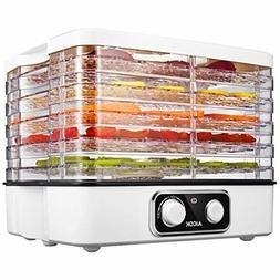 Aicok Food Dehydrator, 5-Tray Food Dehydrator Machine with E