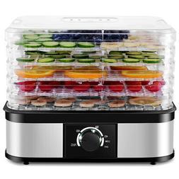 Food Dehydrator 5 Tray Food Preserver Fruit Vegetable Dryer