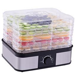 CHEFJOY VD-56444HW 5-Tray Dehydrator Food Preserver Fruit Ve