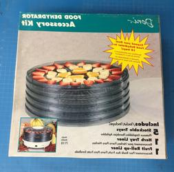 Deni FOOD DEHYDRATOR Accessory Kit  5 trays 2 liners fruit r