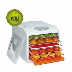 food dehydrator biochef arizona sol 6 trays