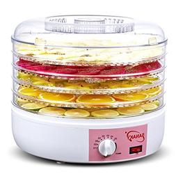 220V Food Dehydrator Professional Electric 5 Tray Food Prese