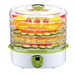 PowCube Food Dehydrator Fruit Dryer Machine Electric 5 Tier