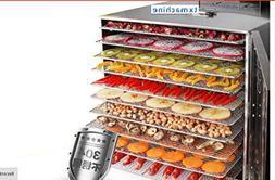 T.X.Food Dehydrator Machine, Electric Multi-Tier Food Preser