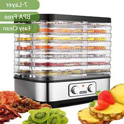 Food Dehydrator Machine With 7 Trays Temperature Control for