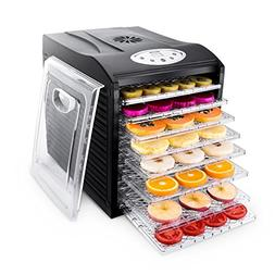 Food Dehydrator Machine by BESTEK, 9 Trays Quiet Fruit Dryer