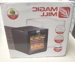 Magic Mill Food Dehydrator Machine -Digital Adjustable Timer