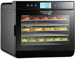 Magic Mill Food Dehydrator Machine - Digital Adjustable Time