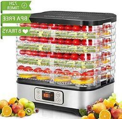 Food Dehydrator Machine Digital Timer and Temperature Contro