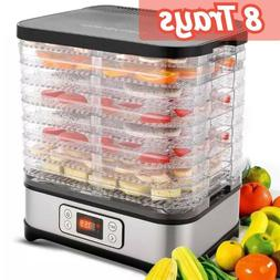 Food Dehydrator Machine, Digital Timer and Temperature Contr