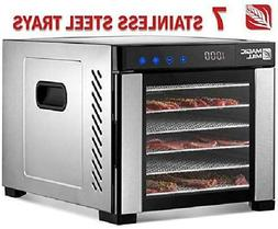 Magic Mill Food Dehydrator Machine, Easy Setup, Digital Adju