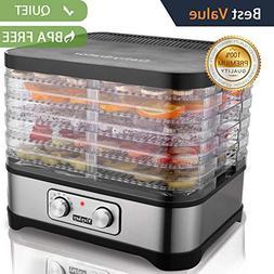 Food Dehydrator Machine, Jerky Dehydrators with Five Tray, K