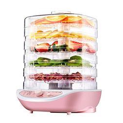 dezirZJjx Food Dehydrator Machine, Electric Fruit and Vegeta