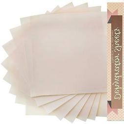 "Food Dehydrator Teflon Baking Sheets - Set of 9 Premium 14"""