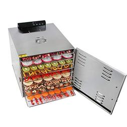 Fruit Dehydrator Air Dryer Stainless Steel 6-layer Height Ad