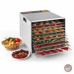 Fruit Dehydrator Food Stainless Steel Home Kitchen Indoor Co