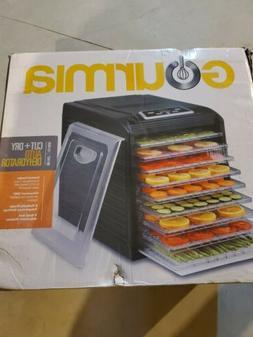 Gourmia GFD1950 Digital Food Dehydrator 9 Trays - Black