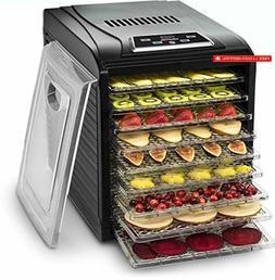 gfd1950 premium countertop food dehydrator 9 drying