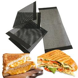 Bluedrop Grill Cheese Bread Folders PTFE Mesh Baking Sheets