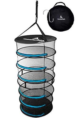 AlpineReach Hanging Herb Drying Rack with Hook - 6 Layer - M