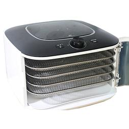 L'EQUIP IR D5 Food Dehydrator Dryer Stainless 5 Trays Timer