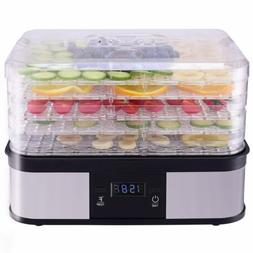 Kitchen Timer Temperature Control 5 Tray Fruit Vegetable Dry