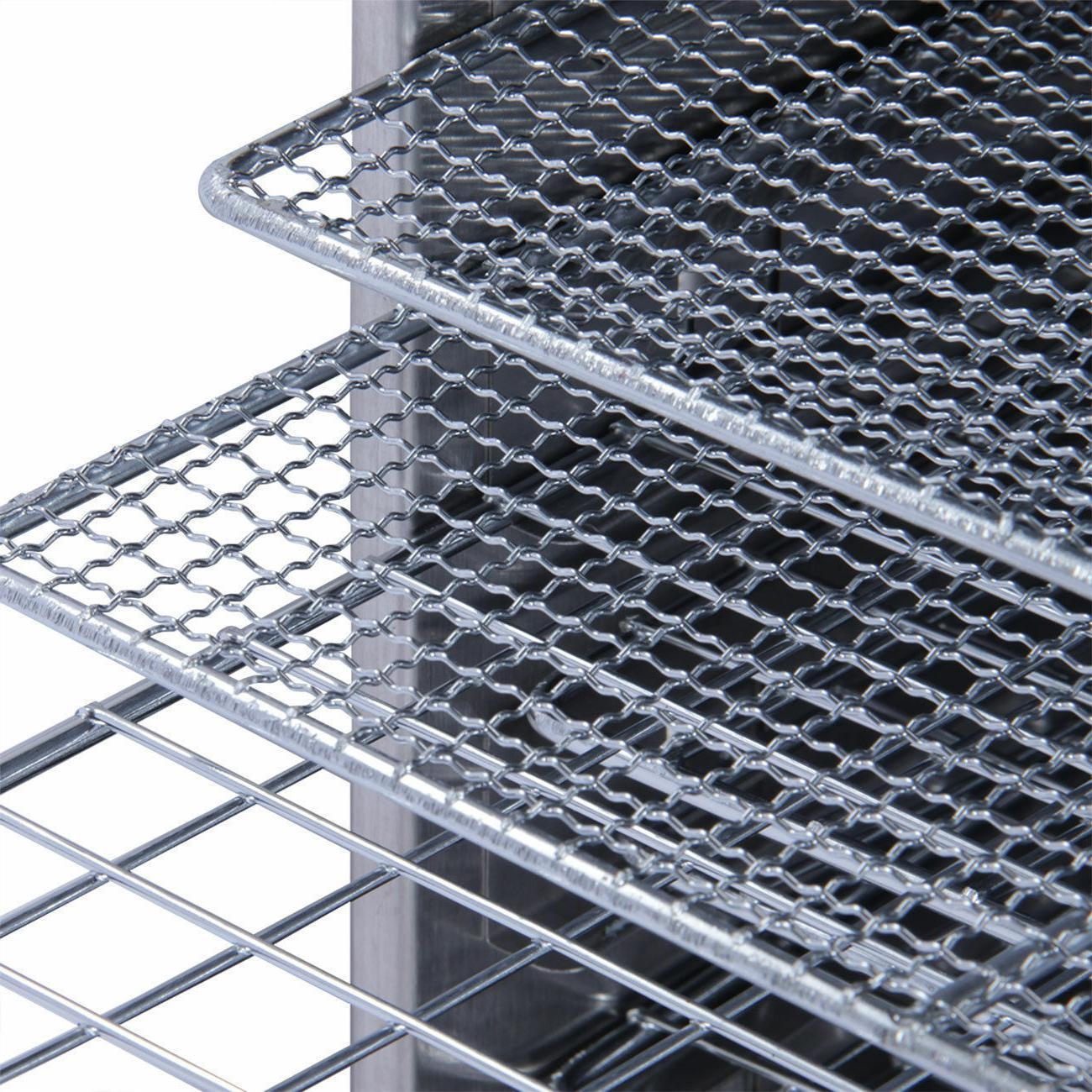 10 Steel Dry Food Dehydrator Heat Blower
