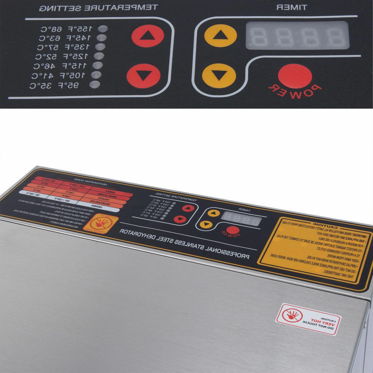 10 Steel Dry Dehydrator Heat