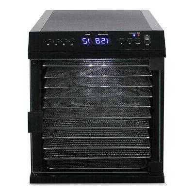 10 DEHYDRATOR Beef Snack Machine Fruit Dryer