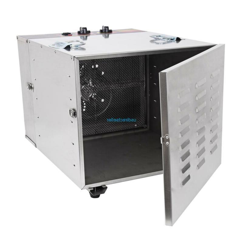 Commercial Dehydrator Jerky Dryer Tray Blower