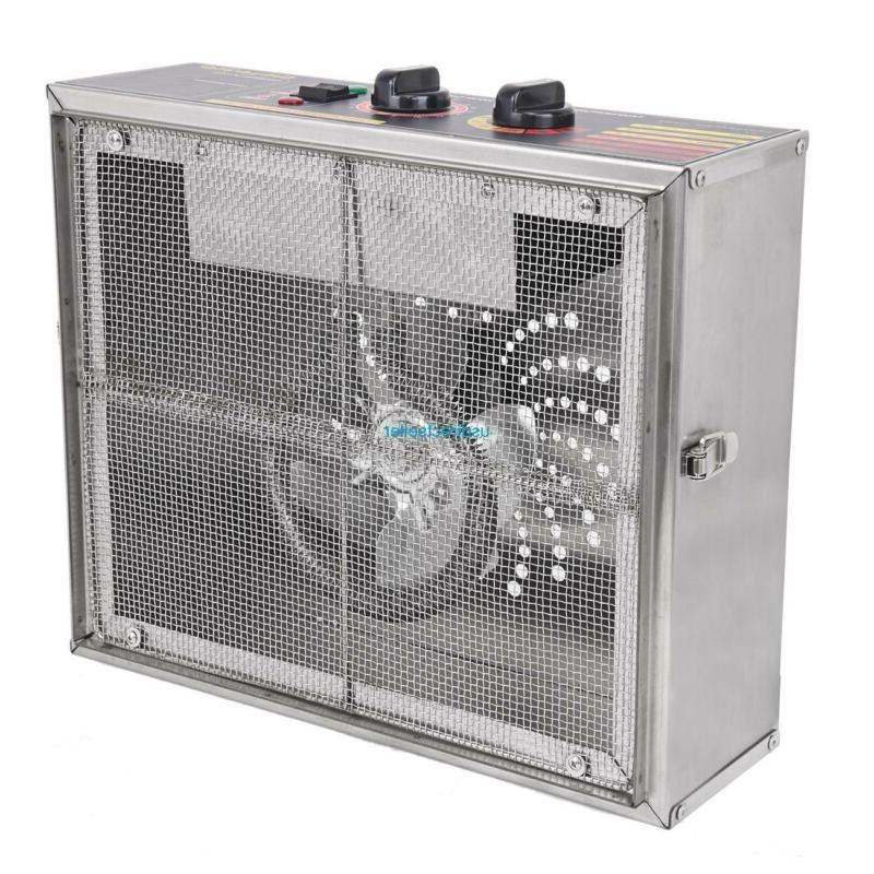 10 Tray Stainless Commercial Jerky Blower