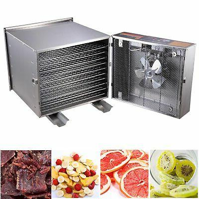 10 tray stainless steel commercial
