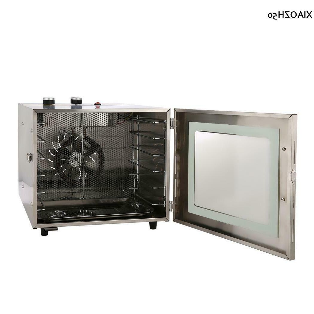 110/220V 6 Layer Food Dehydrator Dried Fruit Machine Meat Dryer