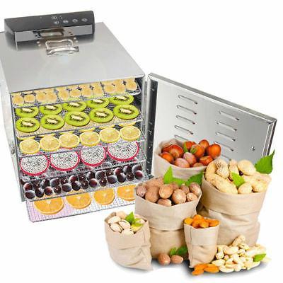 110/220V 6 Dehydrator Fruit Meat Drying