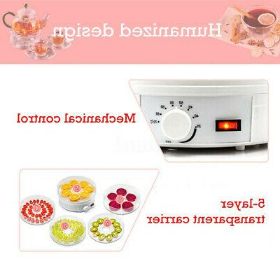 110V 350W Trays Food Fruit Meat Dryer
