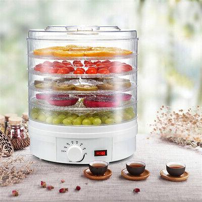 110V 350W Trays Food Dehydrator Vegetable Meat Dryer Machine