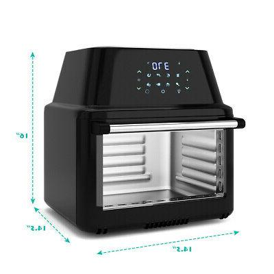 19 QT Multi-functional Air Fryer Rotisserie 8 in