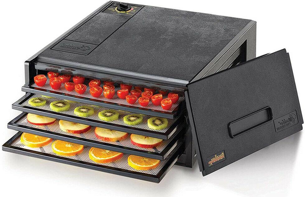 2400 electric food dehydrator with adjustable thermostat