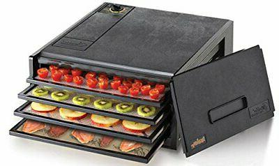 2400x 4 tray electric food dehydrator