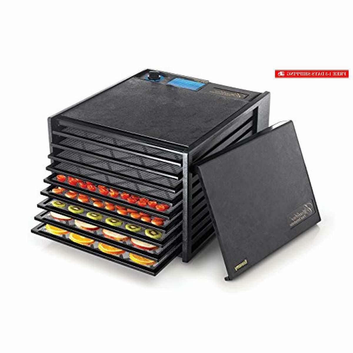 2900ecb 9 tray food dehydrator with adjustable