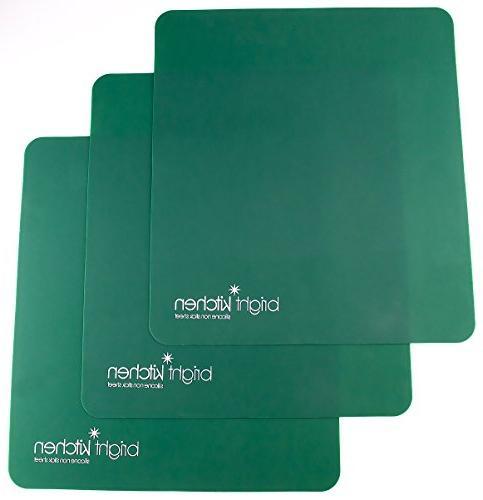 3 silicone non stick sheets